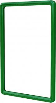 Рамка с карманом-протектором Европос А4 PFPP-A4, Зеленый (Р1000/07)