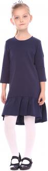 Платье Vidoli G-16022 ШФ 140 см Синее