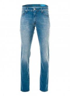 Чоловічі джинси Pierre Cardin з потертістю 30/34 Блакитні (А:8880/46 М:3451)