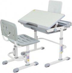 Комплект мебели Bambi M 3111-11 (парта + стул+подставка для книг) Серый (M 3111-11) (6903194327011)