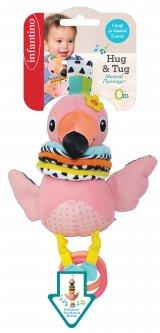 Игрушка мягкая музыкальная Infantino Фламинго (216246I) (3021105162469)