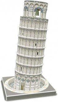 """Трехмерная головоломка-конструктор CubicFun """"Пизанская башня""""(C241h) (6944588202415)"""