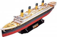 """Трехмерная головоломка-конструктор CubicFun """"Титаник"""" (T4011h) (6944588240110)"""