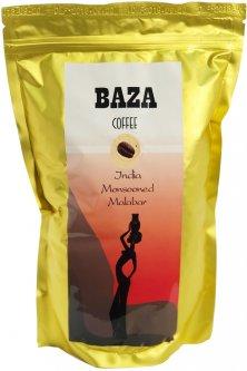 Кофе в зернах Baza India Monsooned Malabar Арабика моносорт 500 г (4820215240161)