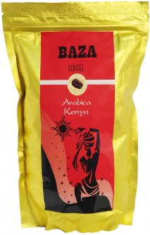 Кофе в зернах Baza Kenya Арабика моносорт 500 г (4820215240185)