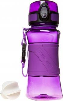 Фляга для воды Uzspace Wasser 350 мл Фиолетовая (6955482372074)