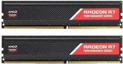 Оперативная память AMD DDR4-2666 16384MB PC4-21300 (Kit of 2x8192) R7 Performance Series (R7S416G2606U2K)