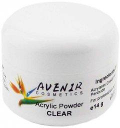 Акриловая пудра для ногтей Avenir Cosmetics Прозрачная 14 г (5900308134214)