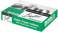 Набор бумаги офисной Ballet Universal A4 80 г/м2 класс С 5 пачек по 500 листов Белая (4605817133109)