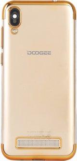Панель Doogee TPU Electroplating для Doogee X90 Gold (109878)