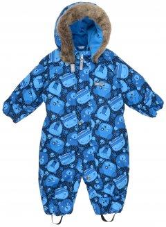 Зимний комбинезон Lenne Zoo 19306/6350 62 см Голубо-синий (4741578316792)