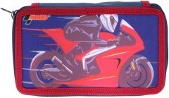 Пенал Class Motobike 2 отделения с наполнением (99608/8591662996081)