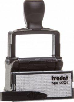 Датер самонаборный Trodat Professional 5465 P4.0 4 строки 56х33 мм Укр+Рус Черный корпус (5465/4/ укр P)
