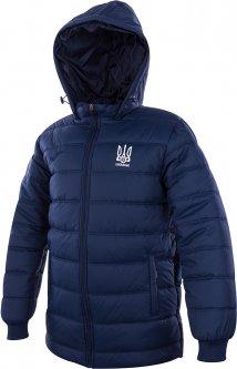Куртка зимняя Joma FFU Ukraine L Темно-синяя (9997509645119)