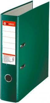 Папка-регистратор DA А4 односторонняя 75 мм Зеленая (624426)