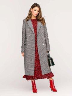 Пальто Mangust 1352К-Original_Grey 46 Серое (2097558405010)