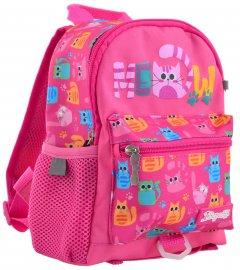 Рюкзак детский 1 Вересня K-16 Meow 0.25 кг 18х22.5х9.5 см 3.8 л (556571)