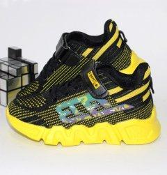 Кроссовки для мальчиков Alemy Kids JJ5065W 35 22.5см черный