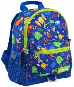 Рюкзак детский 1 Вересня K-16 Monsters 0.25 кг 18х22.5х9.5 см 3.8 л (556579)