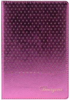 Блокнот Bourgeois N9003 70 г/м² Искусственная кожа + Перфорация А5 80 листов в клетку Красный (6923749726601)