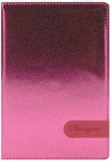 Блокнот Bourgeois N9005 70 г/м² Искусственная кожа А5 80 листов в клетку Розовый (6923749726625)