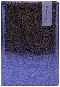 Блокнот Bourgeois N9006 70 г/м² Искусственная кожа А5 80 листов в клетку Черный (6923749726632)