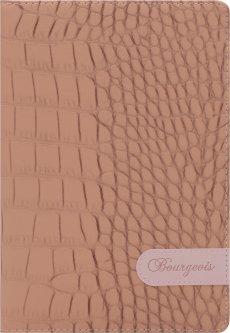 Блокнот Bourgeois N9023 70 г/м² Искусственная кожа А5 80 листов в клетку Бежевый (6923749726809)
