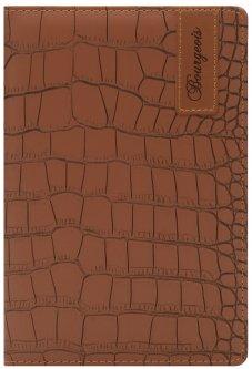 Блокнот Bourgeois N9032 70 г/м² Искусственная кожа А5 80 листов в клетку Коричневый (6923749726892)