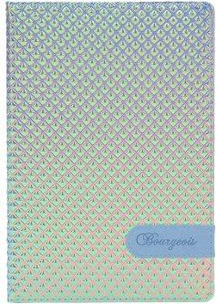 Блокнот Bourgeois N9035 70 г/м² Искусственная кожа А5 80 листов в клетку с переливанием (6923749726922)