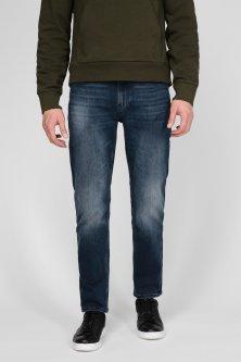 Чоловічі сині джинси SLIM TAPERED BLUE BLACK DENIM Calvin Klein 36-34 K10K106191