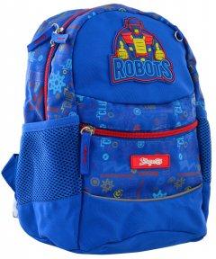 Рюкзак детский 1 Вересня K-20 Robot 0.275 кг 22х29х15.5 см 10 л (556513)