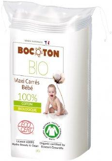 Ватные диски Bocoton Bio органические детские большие 60 шт (3265660394006)