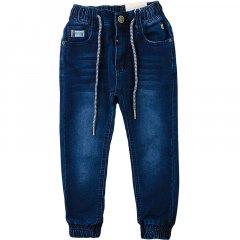 Брюки джинсовые для мальчика TAURUS B-27 128 см темно-синий джинс (465233)