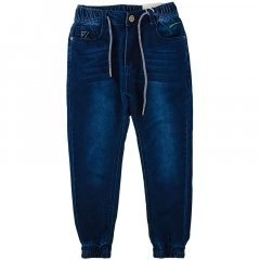 Брюки джинсовые для мальчика TAURUS B-38 164 см темно-синий джинс (465248)