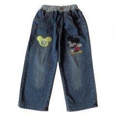 Джинси Mickey Mouse Bear для хлопчика 100 см Сині 6833