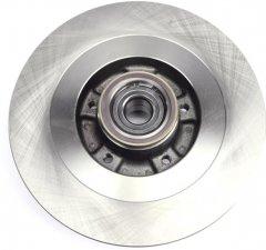Диск тормозной задний Solgy Renault Scenic III 2.0dCi 09- (290х11) (+ABS) (с подшипником) (208037)