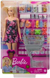 Игровой набор Barbie Продуктовый магазин (GTK94)