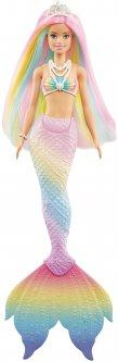 Кукла-русалка Barbie Дримтопия Цветная игра (GTF89)