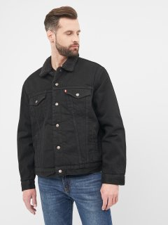 Джинсовая куртка Levi's Type 3 Sherpa Trucker Berk 16365-0100 S (5400816074502)