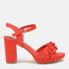 Босоножки XTI Navy Microfiber Ladies Sandals Са 35044 37 23 см Красные (8434739291033)