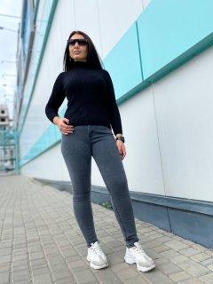 Джинси жіночі джинси стрейч Miss Podium Синій 54