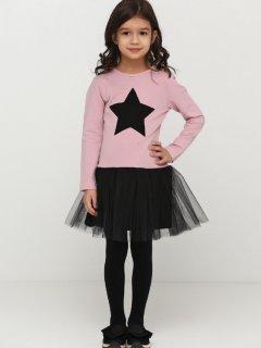 Платье Vidoli G-21872W 128 см Пудра (4820161005890)