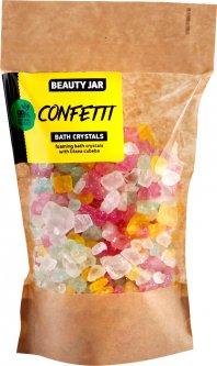 Пенистые кристаллы для ванны Beauty Jar Confetti с конфетти и литсея кубеба 600 г (4751030831961)