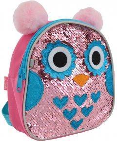 Рюкзак дитячий Yes K-25 Owl 0.16 кг 18х18х5 см 1.5 л (556505)