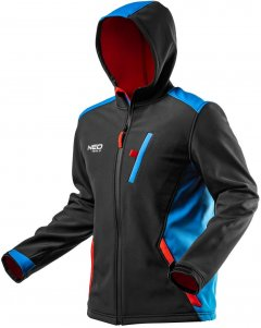 Куртка NEO Tools L/52 Черная (81-558-L)