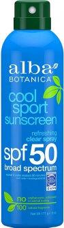 Солнцезащитный спрей Alba Botanica Cool Sport Прозрачный Освежающий широкого спектра действия 171 г (724742003784)