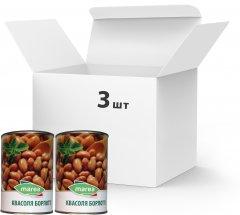 Упаковка фасоли Marea Borlotti beans 3 шт х 400 г (8033219794127)