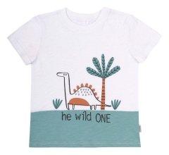 Костюм (футболка + шорты) Бемби KS646-Y10 80 см Черный/Белый (4823109635296)