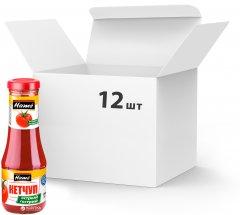 Упаковка кетчупа Hame томатного острого 310 г х 12 шт (18594001030283)