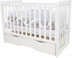 Детская кроватка Angelo Lux 11 Белая (11031)